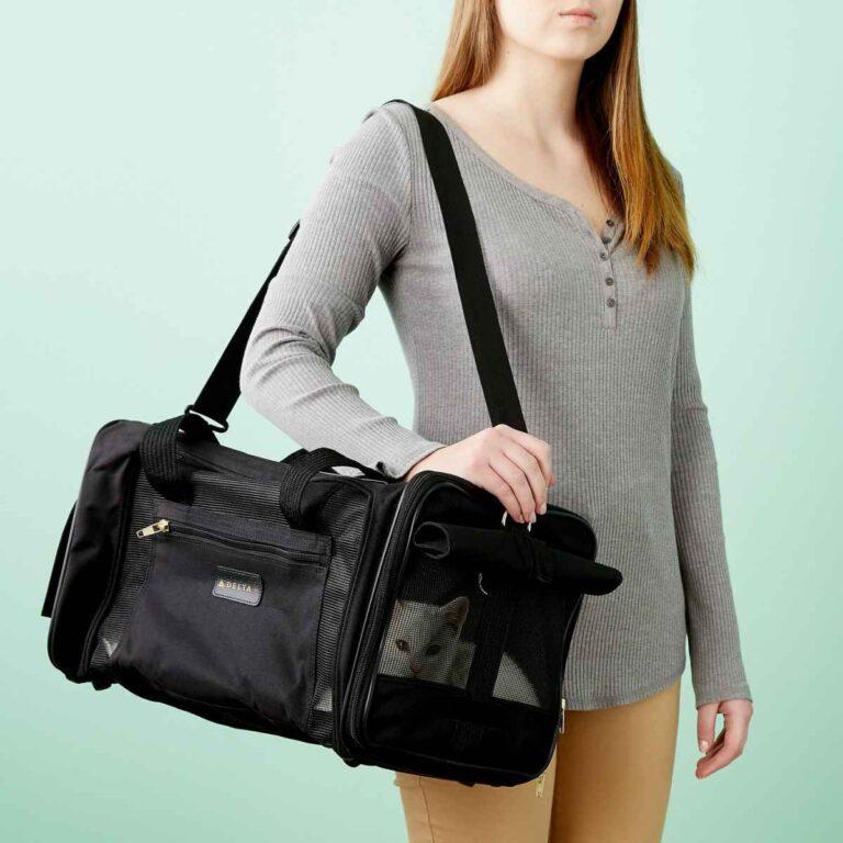 Bolsa de transporte de mascotas y funda de asiento – Su compañero de viaje ideal y asequible