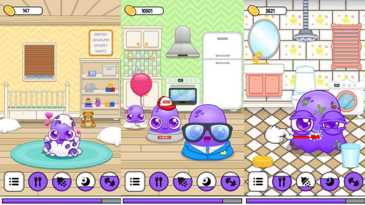 Frojo virtual pet games